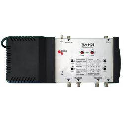 Amplificador de linea TLA 340E 2 sat+tdt triax