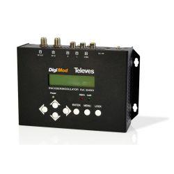 Modulador doméstico DVB-T Televes con entrada CVBS