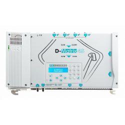 Conversor SAT/TDT Fracarro D-MATRIX-4S QUAD DVBS/S2 a 2 Salidas DVBT/C - 2 slot C.I + Reproductor USB