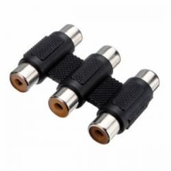 Adaptador Jack 3.5mm macho a 2 RCA hembra (Audio)