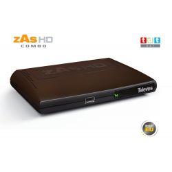 Receptor Satélite Televes Zas HD Combo