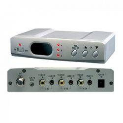 Modulador Illusion VHF 3 canales/entradas Estereo con selector 85 dB