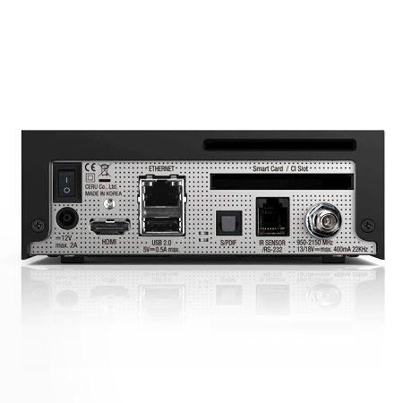 Vu-ZERO-4K-Receptor-de-Satelite-DVB-S2X-UHD-Negro miniatura 4