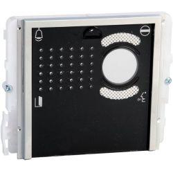 Comelit 33410 Module Audio et Vidéo avec 0 boutons avec couvercle noir
