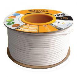 Câble coaxial à bobine en bois 500m SK2000plus White Televes