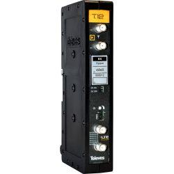 Amplificador monocanal T.12 302-407MHz 58dB Televes