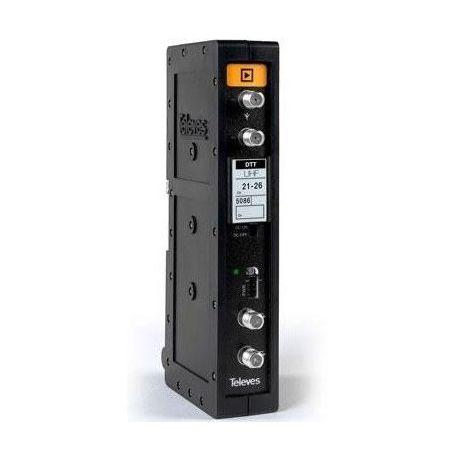 Amplificador Monocanal UHF 470-862MHz (selectivo con autoajuste) Televes