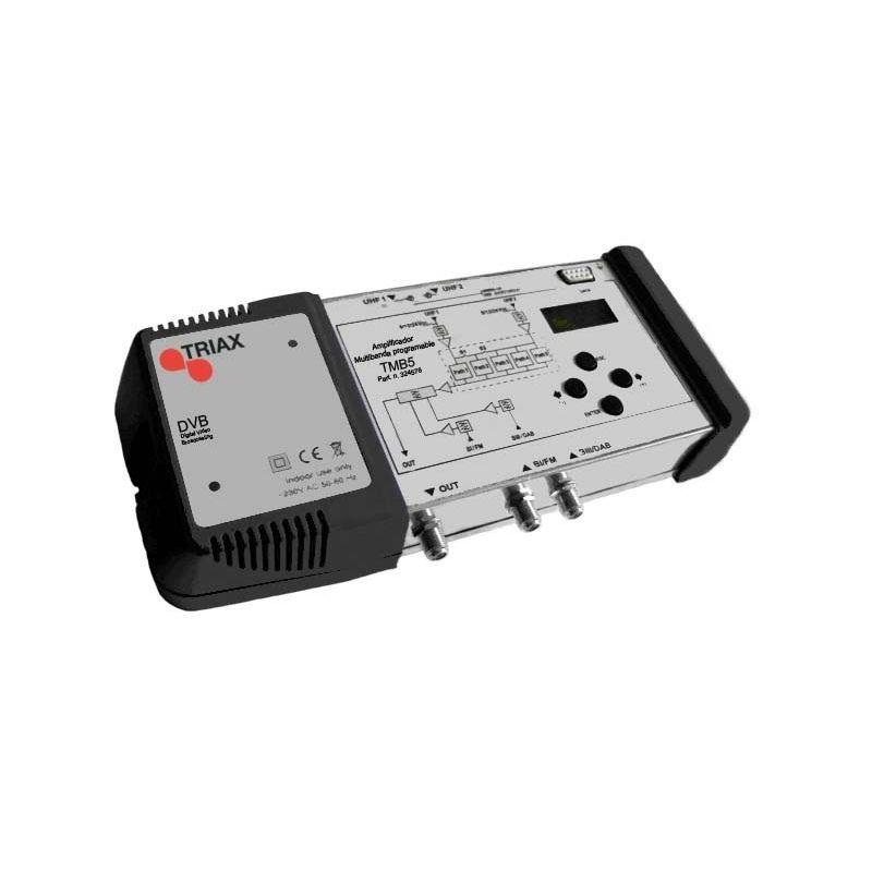 Central Programable 4 entradas/1 salidas Triax 45 dB 5 filtros TMB5
