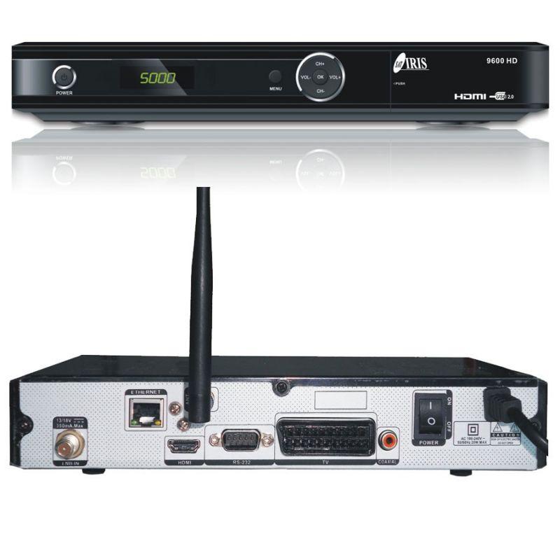Receptor Satelite IRIS 9600 HD WIFI 1080 PVR NET Envio Gratis