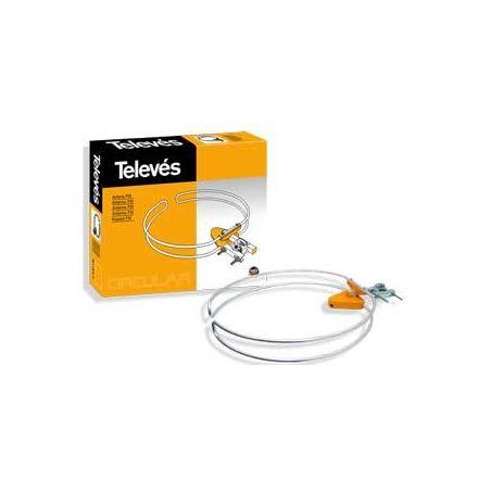 Antena monolítica Televes FM circular 1201