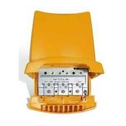 Amplificador mástil Televes 3e/1s BI/BIII/DAB-FM-U-U G38db