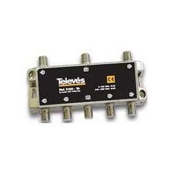 Derivador Televes 4 Direcciones Tipo F 12db