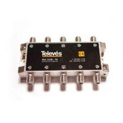 Derivador Televes con conector F de 8 salidas (18 dB)