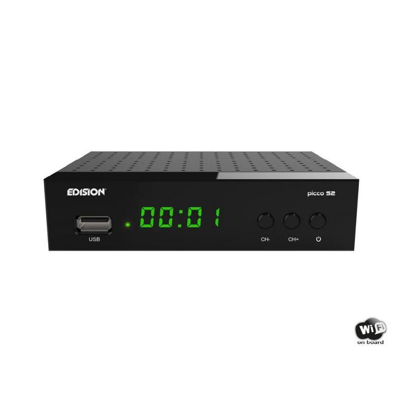 Edision Picco S2 - Satellite receiver DVB-S2, WiFi