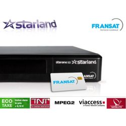 Receptor satelite Starland StarOne TNT Fransat Gratuito Envio Gratis