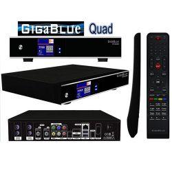 Receptor Satelite Gigablue QUAD HD Twin 2 Tuner SAT PVR Enigma2 Envio Gratis