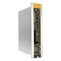 Transmodulador con Remultiplexado Single DVBS/S2 - DVBC (QAM Annex A) con CI Televes