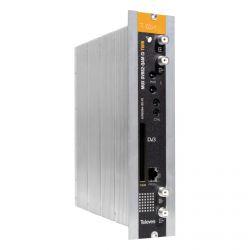 Transmodulador con Remultiplexado Twin DVBS/S2 - DVBC (QAM Annex A) con CI Televes
