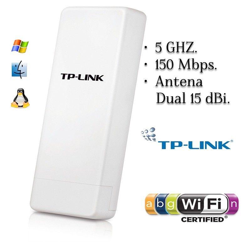 Punto de acceso inalámbrico para exteriores de 5 GHz a 150 Mbps TL-WA7510N Envio gratis