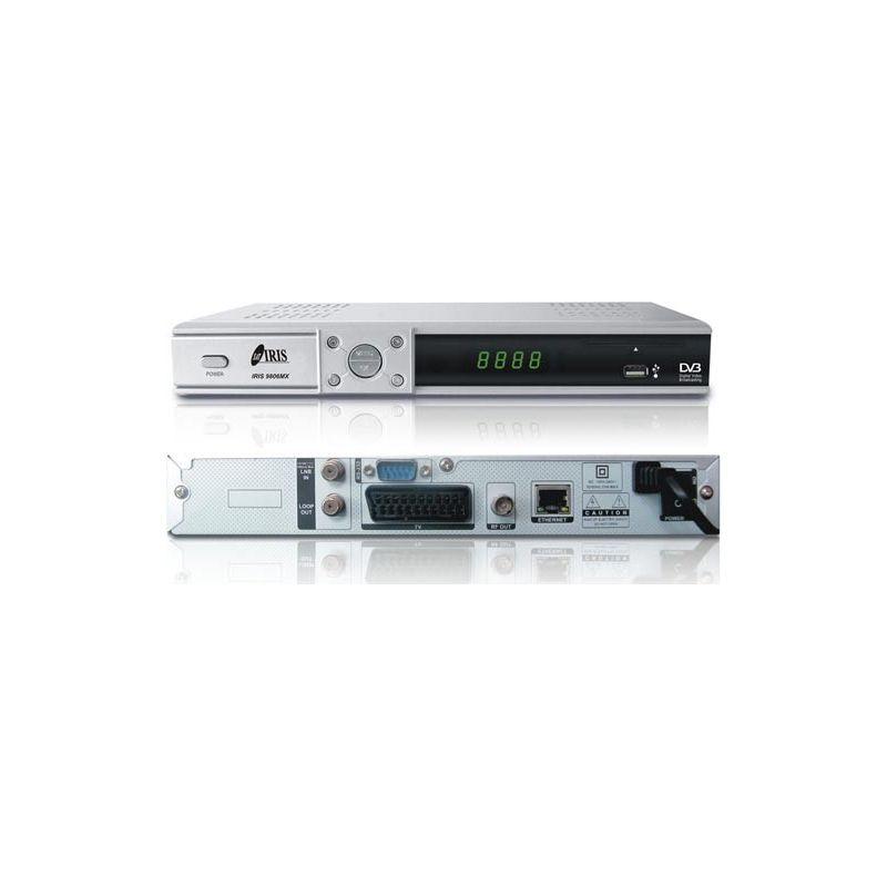 Receptor Satelite IRIS 9806MX PVR NET Envio Gratis iks