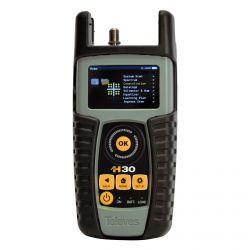 Medidor de campo H30 (DVB-C) + CTR remoto + Teste de IP Televes