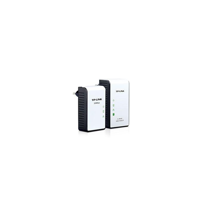 Kit extensor Powerline inalámbrico N AV200 a 300 Mbps TP-LINK TL-WPA281KIT
