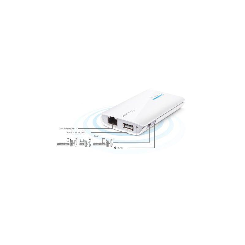 Router inalámbrico N portátil 3G / 3.75G alimentado por baterías TP-LINK TL-MR3040
