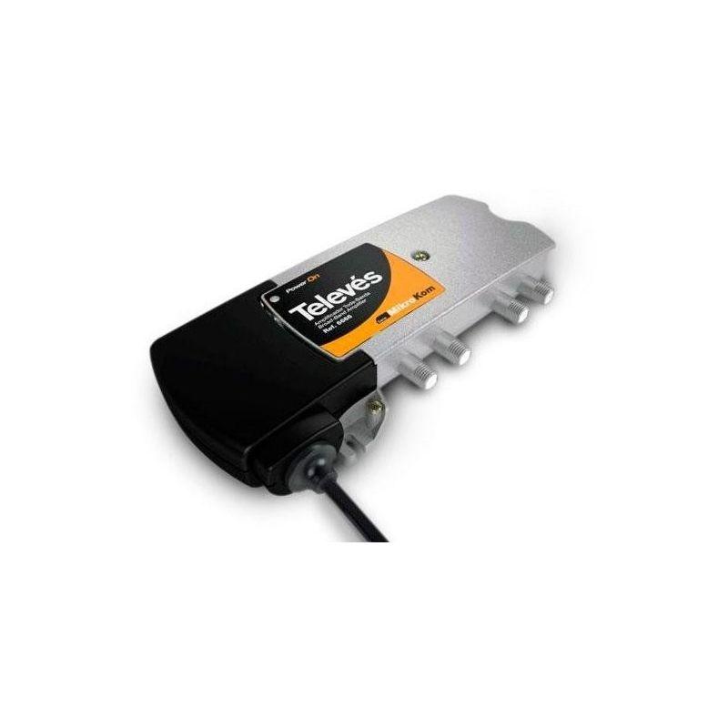Amplificateur MicroKom C3 C.RET/MATV G20/20dB Televes