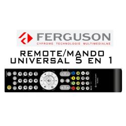 Ferguson RCU-650 Controle Remoto Universal 5 em 1 Ferguson Ariva
