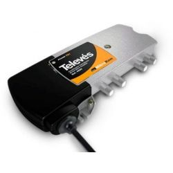Amplificador MicroKom C3 C.RET/MATV G20/20dB Televes