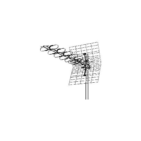 Fesa 815 SuperSpectral UHF Triax Antena Terrestre TDT