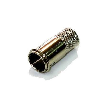 Conector F rapido  6,4 mm RG6