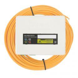 Fibre optique PAU 4 sorties SC/APC 4 Fibre 15 m Televes