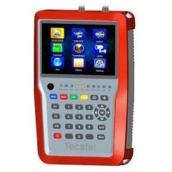 Mesureur de champ Tecatel CCTV IPTV DVB-S2/T2/C2 M-TD2 H265
