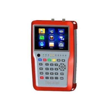 Medidor de campo Tecatel M-TD2 H265 DVB-S2/T2/C2 CCTV IPTV