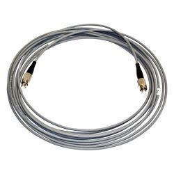 Cabo de fibra ótica preconnectorized FC/PC ao ar livre 1m Televes