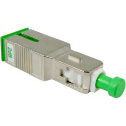 Atténuateur optique 1310/1550nm SC/APC 2dB Televes