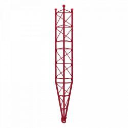 Partie inférieure du bras oscillant de la tour 450 galvanisée à chaud de 3m Rouge Televes