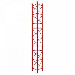 Section intermédiaire renforcée tourelle galvanisée à chaud de 3m série 450 Rouge Televes