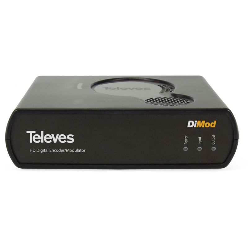 DiMod. Encoder/Modulador HD - DVB-T/DVB-C Televes