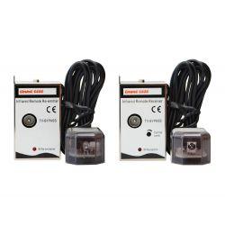Emmeesse Kit de extensão de cabo coaxial IV infravermelho (TX + RX)