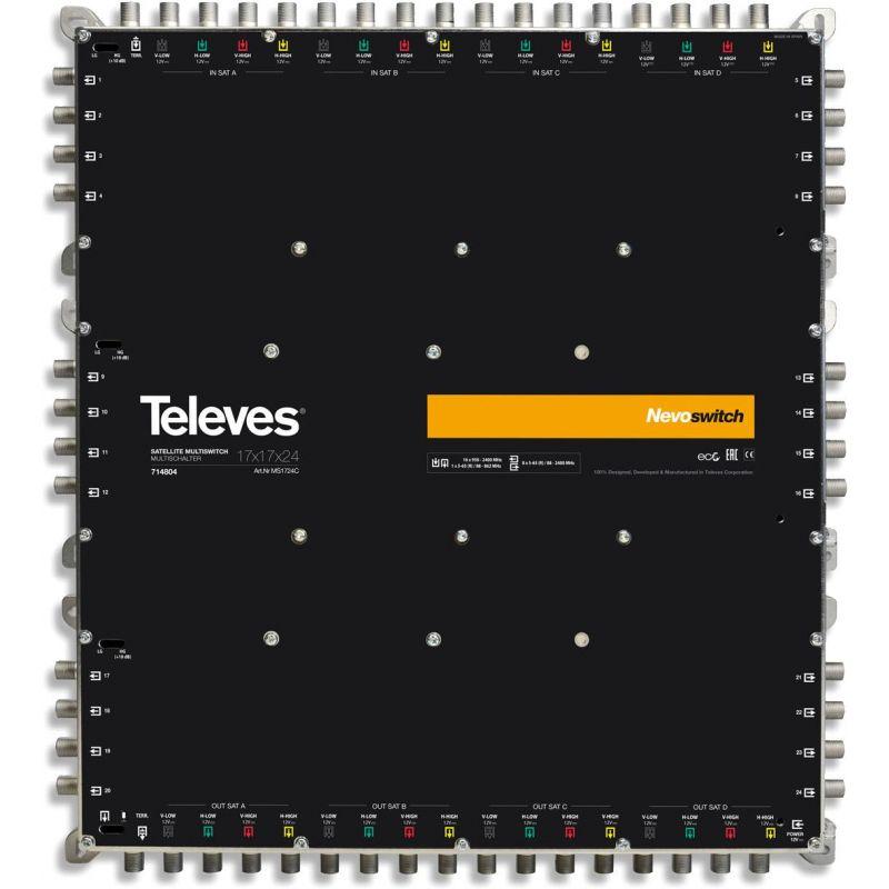 Nevoswitch Multiswitch 17x17x8 F Terminal/Cascade Televes