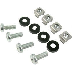 "Screw Kit for Rack 19"" Screw with washer and nut (50 units) Televes"