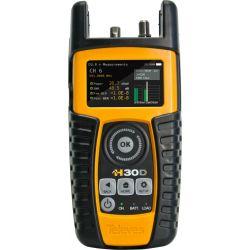 Medidor de campo H30 (DVB-C) + CTR remoto + Teste de IP + DOCSIS 3.0 Televes