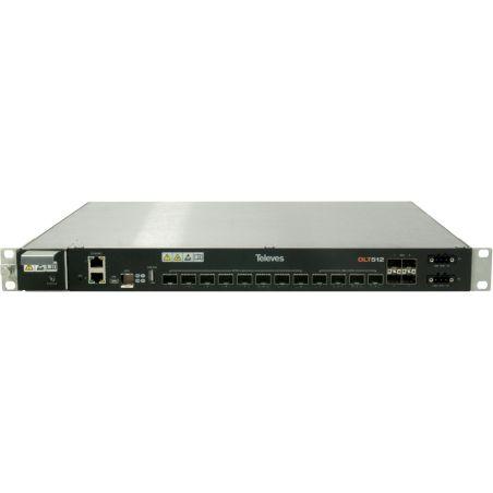 Module OLT512 8x PON + 4x Gb Ethernet + 4x 10Gb/Gb Ethernet Televes