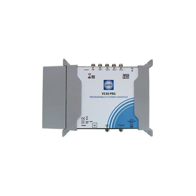 WISI VS50PRO Convertisseur de Filtrage Programmable