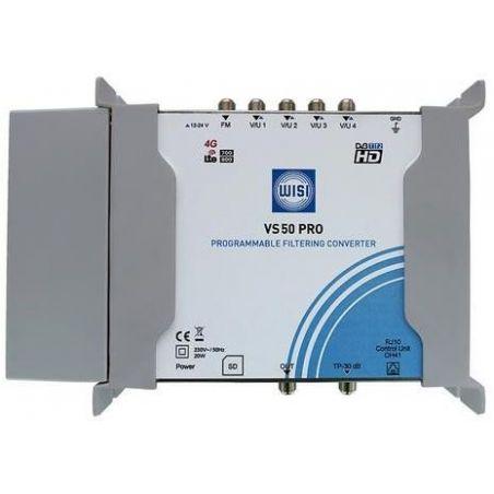 WISI VS50PRO Convertidor de Filtrado Programable