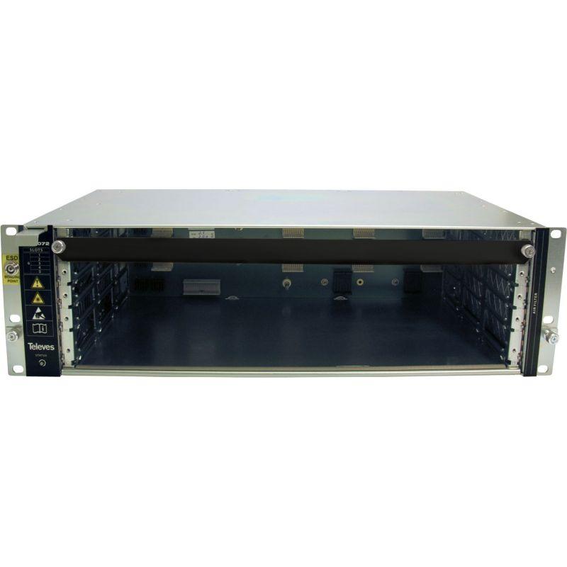 Châssis avec alimentation pour système modulaire OLT3072 Televes