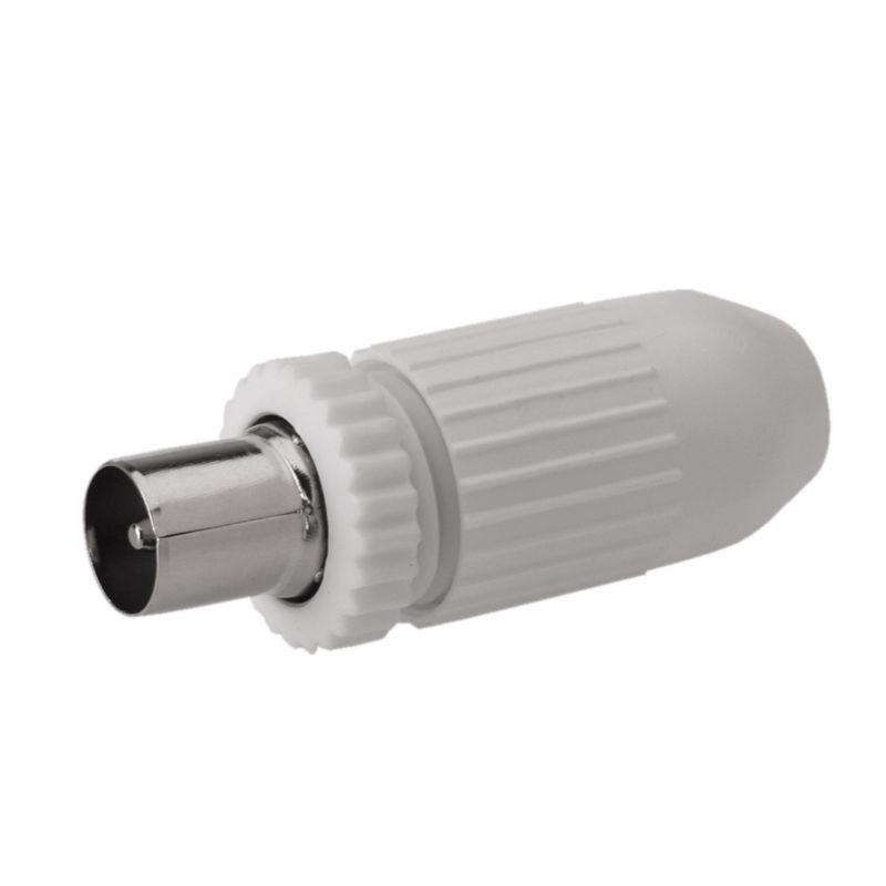 Conector IEC Antena para cables de menos de 7.8 mm Hembra