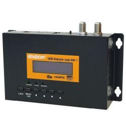 Modulador Edision DVB-T HD COFDM con entrada HDMI y Filtro LTE